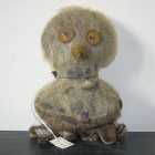 Canada: Inuit owl  made from seal skin