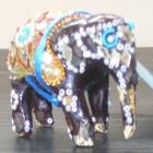 India: Decorated elephant