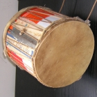 West Africa: Drum made from paint tin