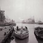 Bristol docks circa 1960