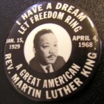 Martin Luther King Badge