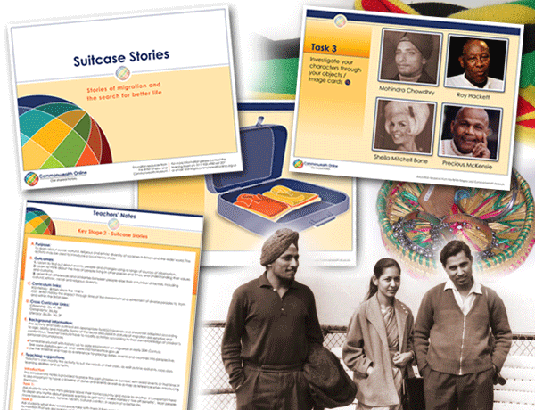 Commonwealth Online Key Stage 2 education pack