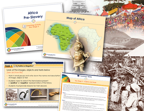 Commonwealth Online Key Stage 3 Slavery education resources